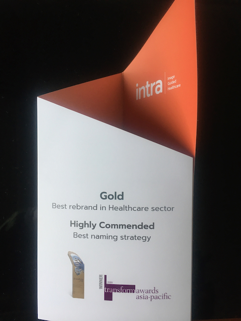 Intra Receives Brand Awards